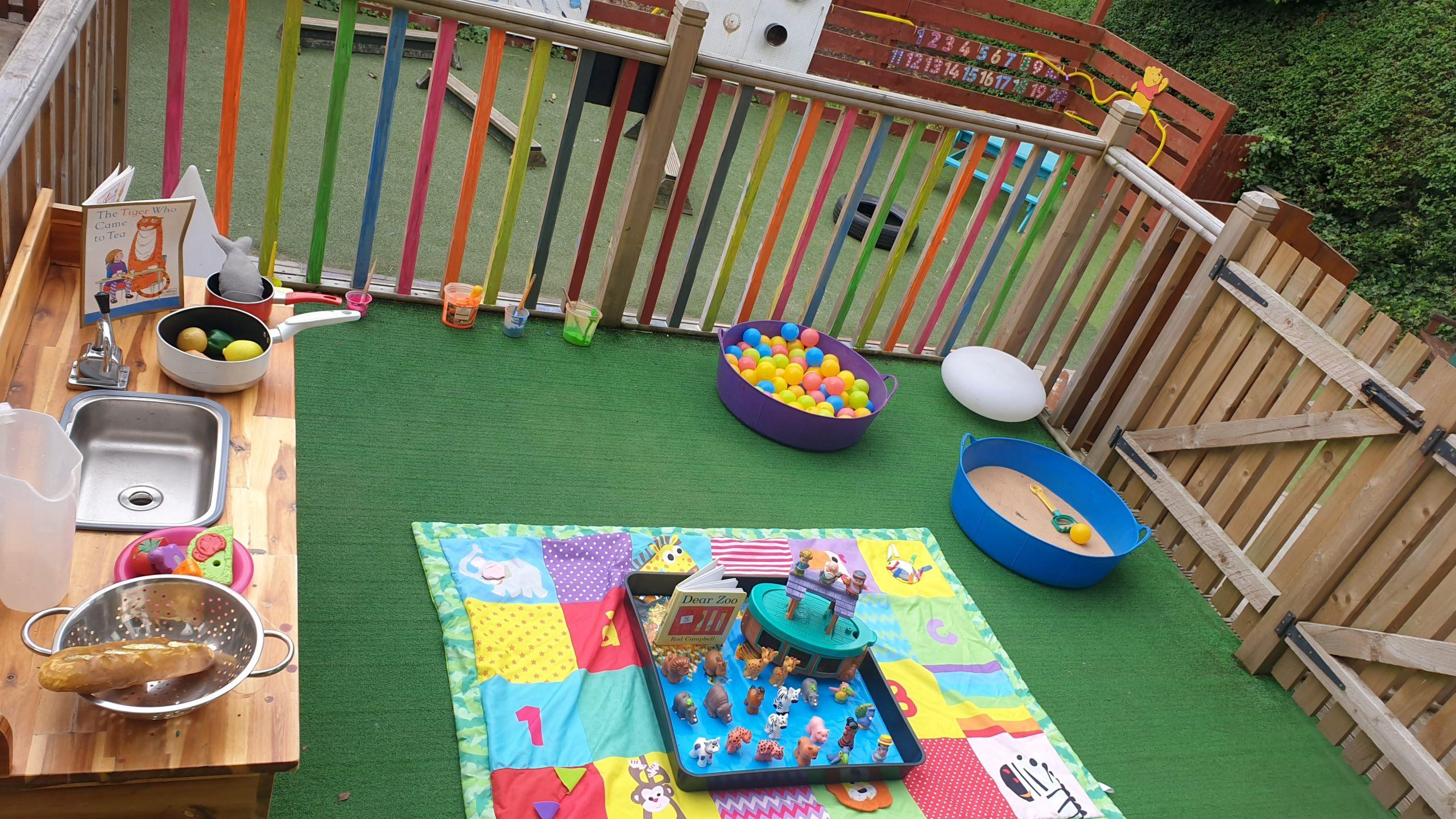baby area outdoor